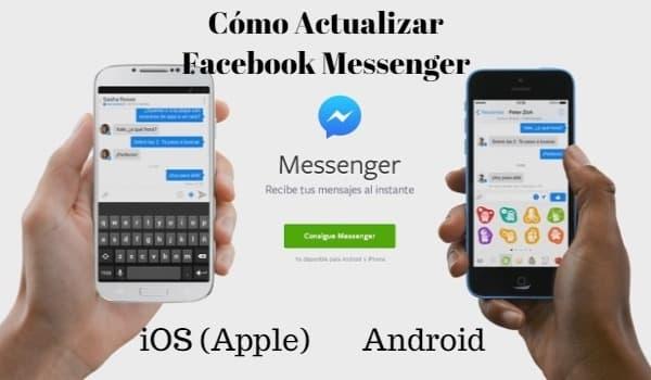 como actualizar facebook messenger