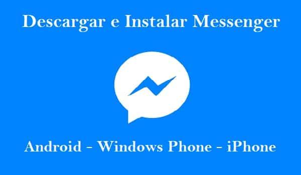 instalar facebok messenger para móvil