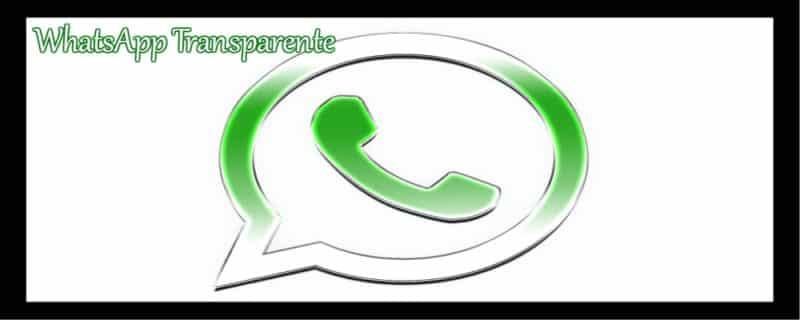 whatsapp transparente portada